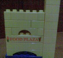 Satarupa's Foodplaza using Bluiding Blocks by satarupap
