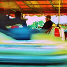 Dodgems at the Lindfield Fun-fair #6 by Matthew Floyd