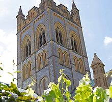 Buckfast Abbey in Devon by Keith Larby
