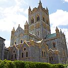 Buckfast Abbey in Devon on a summers day. by Keith Larby