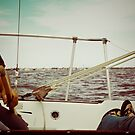 sailing... by eelsblueEllen