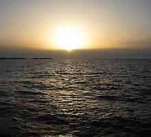 A Sunset in Mediterranean sea. by rasim1