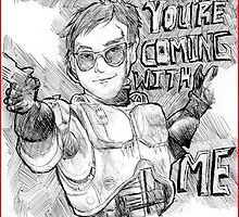 Luke McGrath as Robocop by raspberryslice