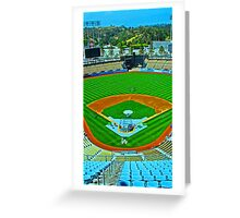 L.A. Baseball - Home of the Dodgers Greeting Card