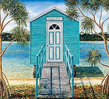 Cotton Tree Boathouse by Sarina Tomchin