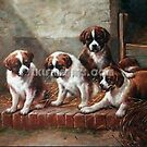 Classical Pet animal painting by jackie leung