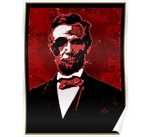 Zombie Lincoln Poster