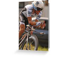 Alberto Contador Greeting Card