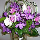 Wedding Bouquet - Canada to Australia via Inter-flora by EdsMum