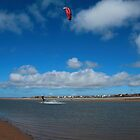 Kite Surfer by SteveFinch