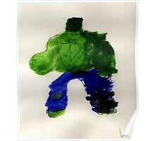 The Hunk Superhero Poster