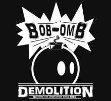 Bob-Omb Demolition White by MightyRain