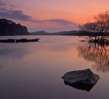 Crag Lough at Hadrians Wall by Darren Turner