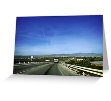 Hit the Road! Greeting Card