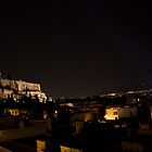 Athens at Night by rebecca12291