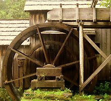 Mabry Mill- Side View ^ by ctheworld