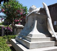Angel of Grief (Original in Rome) by rebecca12291