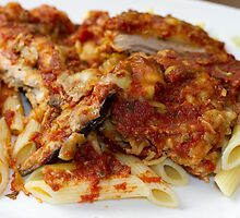 Eggplant and Chicken Parm by Renee Cass
