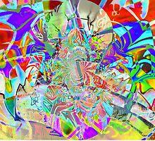 Psychedelic Graffiti by David Schroeder