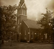 Church in Bible Grove, IL by Archetypus