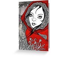 Pic de Rosu Greeting Card