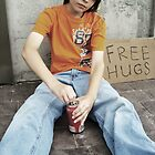 Free Hugs Boy by TiffanieH