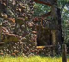 Jack London's Mansion ruins by Lenny La Rue, IPA
