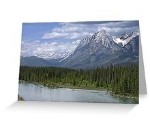 Welcome to Banff Greeting Card