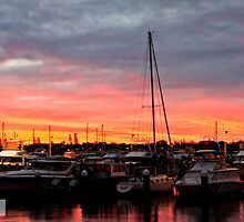 Fremantle Fishing Boat Harbour by Michael Bailey