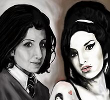 AMY WINEHOUSE : THEN AND NOW ! by Ray Jackson