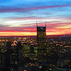 Sunset over Melbourne Central 270711 by Mark B Williams