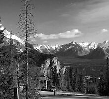 A little bit of Banff series # 5 by Elisabeth Dubois