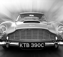 Aston Martin DB5 by Tom Clancy