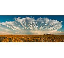 Severe Thunderstorm - Healy, Kansas Photographic Print