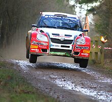 Johnny Greer/Dai Roberts - Skoda Fabia S2000 - 2011 Sunseeker Rally by MSport-Images