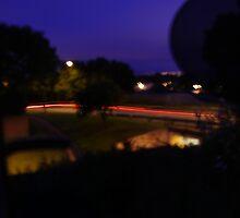 Trailing Tail Lights by Matt Hurst
