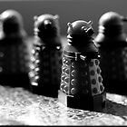 Daleks by Emma Harckham