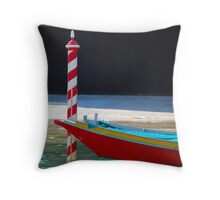 Parked! Throw Pillow