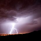 El Paso Lightening by Misti Hymas