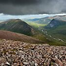 Glen Dee, Cairngorms, Scottish Highlands by David Lewins LRPS