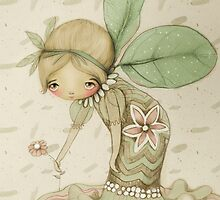 little leaf fairy by © Karin  Taylor