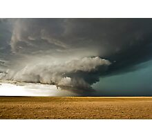 Rotating Supercell in the Palmer Divide, Colorado Photographic Print