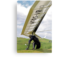 Competitor, British Open Series, Wales Metal Print