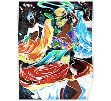Cuban Dancers - Magical Rhythms... Poster