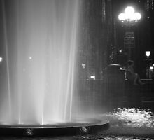 Summer Night In Washington Square Park by Vivienne Gucwa