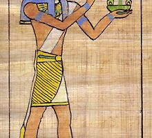 Thoth Vignette by Aakheperure