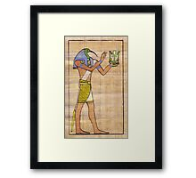 Thoth Vignette Framed Print