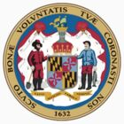 Maryland State Seal by GreatSeal