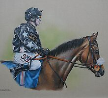 Jockey Study by Stephanie Greaves