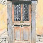Doorway, Lavaudieu, France by ian osborne